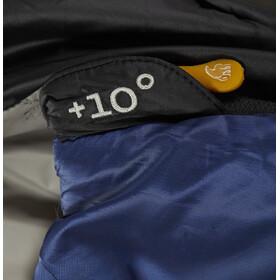 Nordisk Puk +10° Blanket Schlafsack L true navy/mustard yellow/black